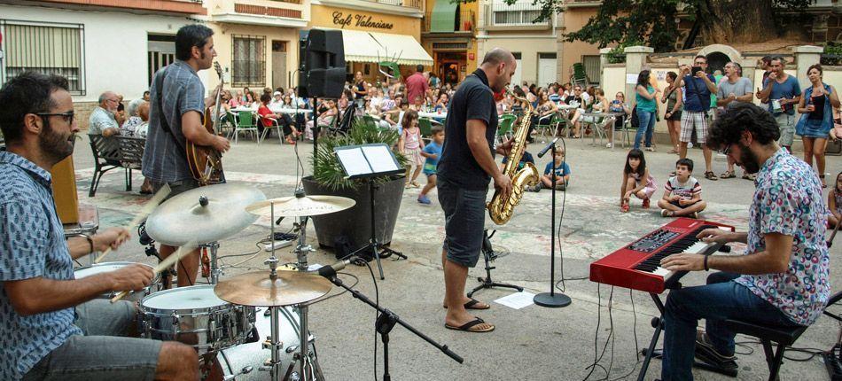 Jazz en la plaza del Olmo