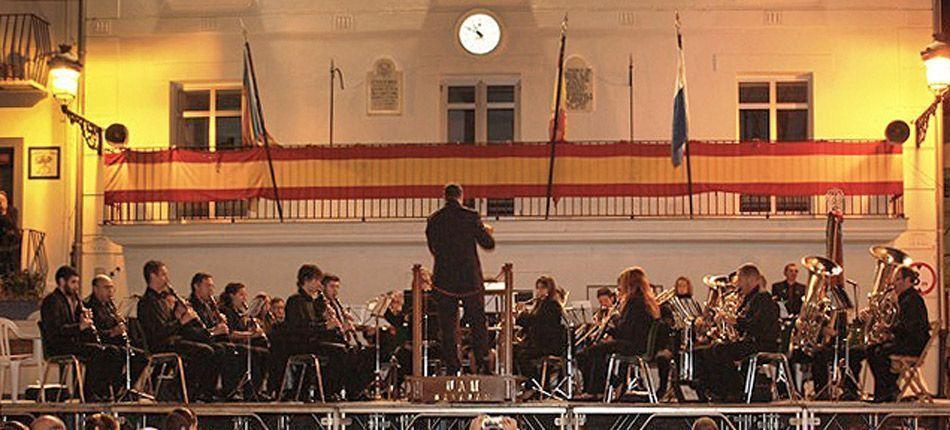 Concierto de la UAMN de Navajas