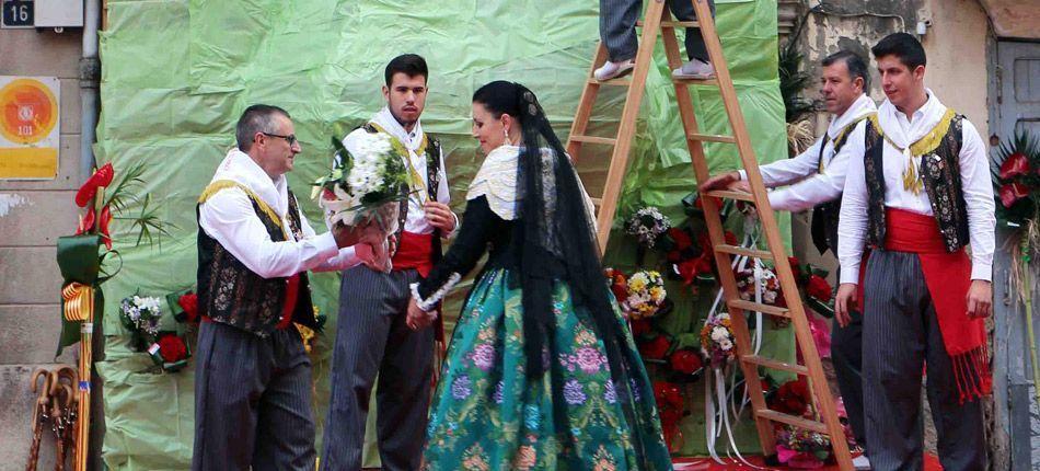 Flores para la Blanca Paloma
