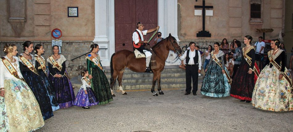 Navajas inicia sus Fiestas Patronales