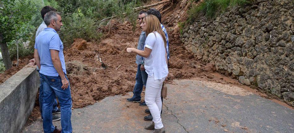 La Diputación reparará el desplome de Navajas