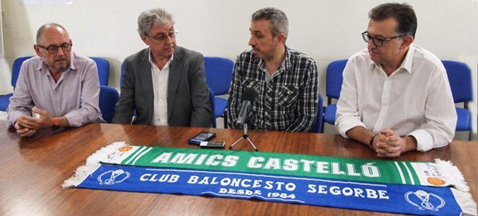 El C.B. Segorbe vinculado a Amics del Bàsquet Castelló