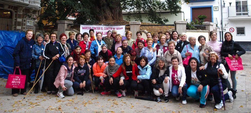 Navajas celebra una Marcha solidaria