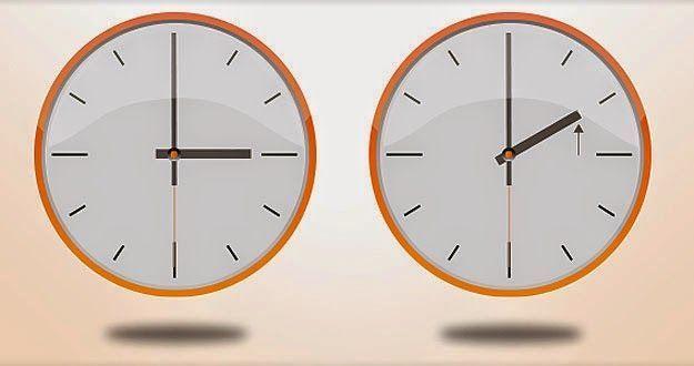 Esta noche cambian la hora