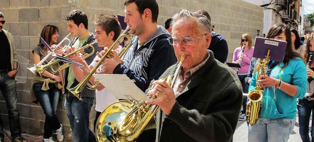 La banda de Castellnovo actuará en la plaza España