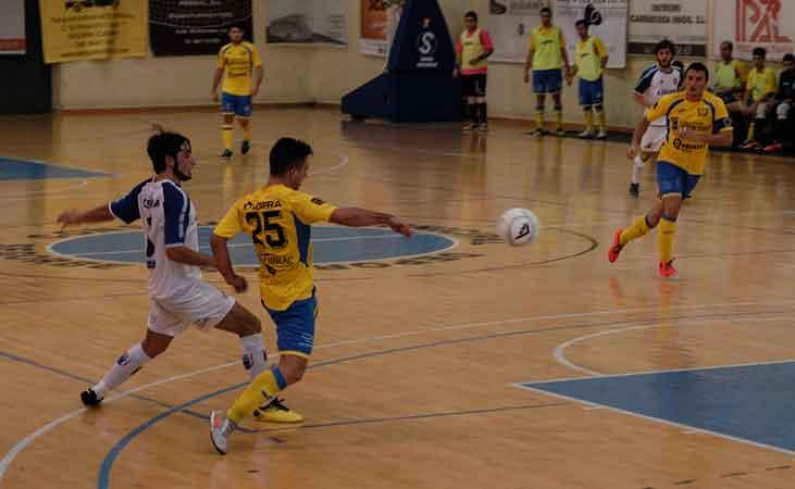 Aplastante victoria del fútbol sala Segorbe contra el Villa de Murillo