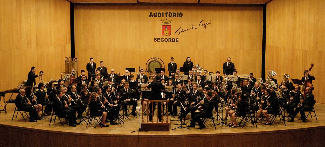 Segorbe asiste al Certamen Provincial de Bandas de Música