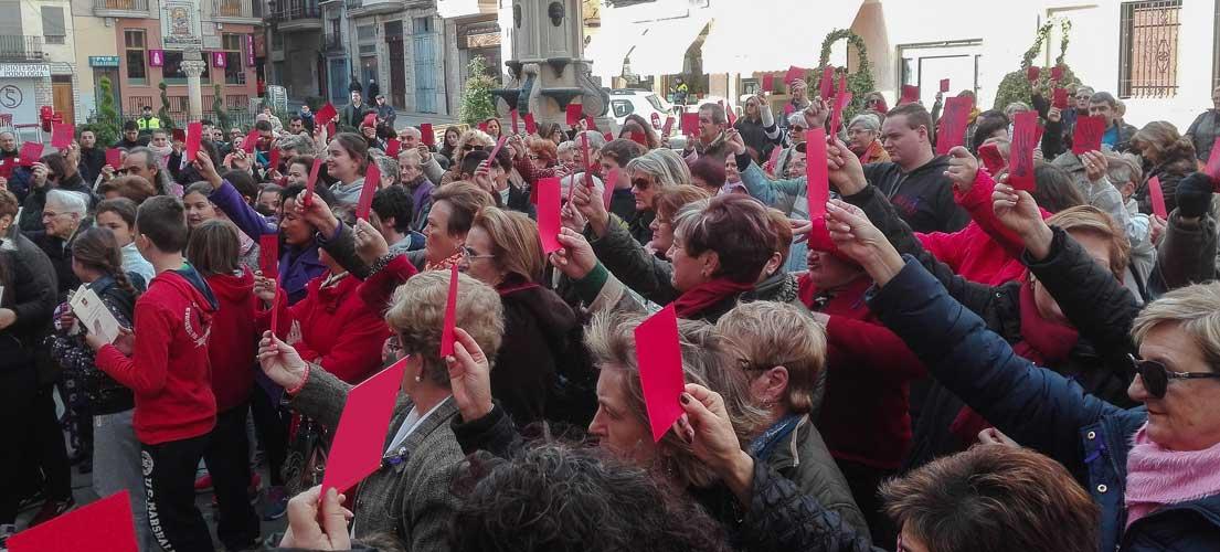 Tarjeta roja al maltrato en Segorbe
