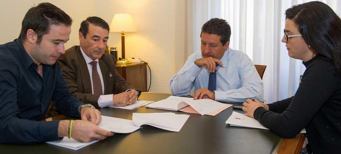 Caudiel expone sus problemas ante la Diputación