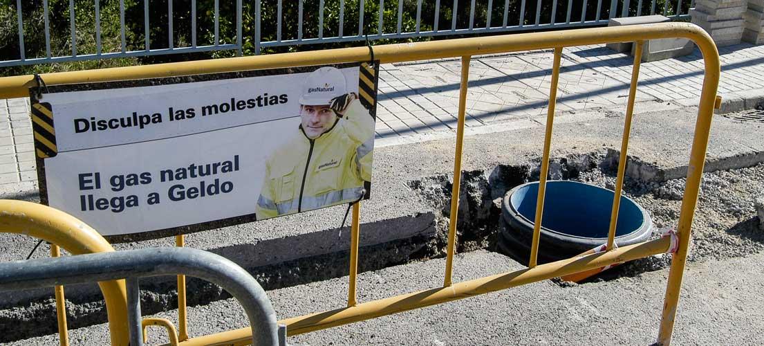 El gas natural llega a Geldo