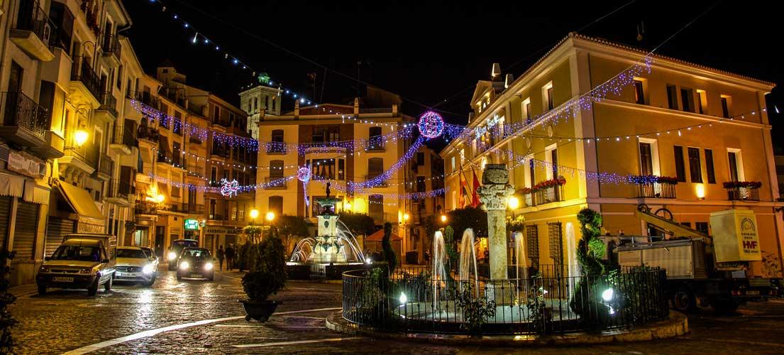 Luces de Navidad en Segorbe