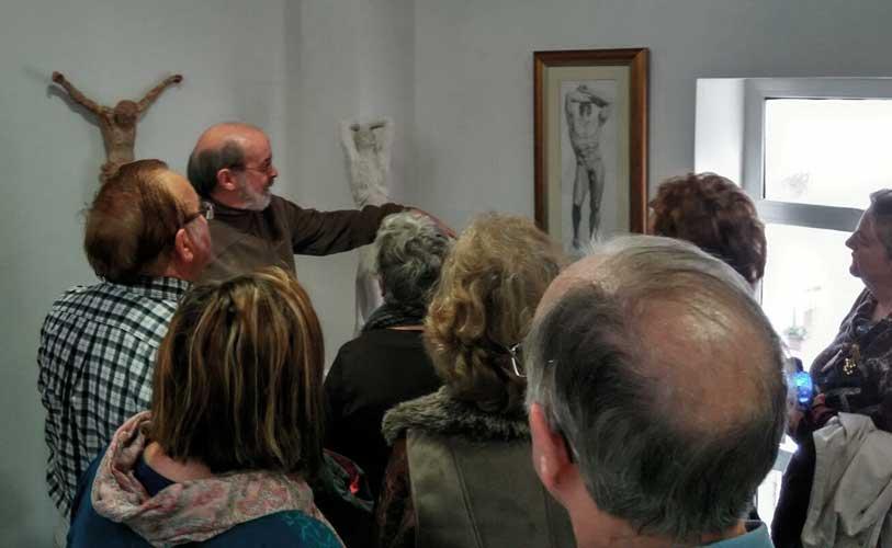 Manolo Rodríguez se lleva de Navajas y trae a Segorbe su obra