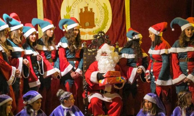Papá Noel llegó a Segorbe
