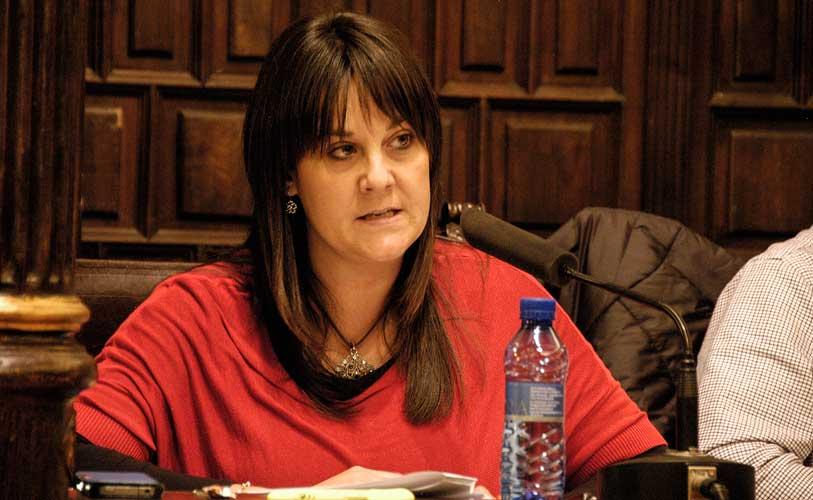 Yolanda Sebastián rebate las criticas del PP