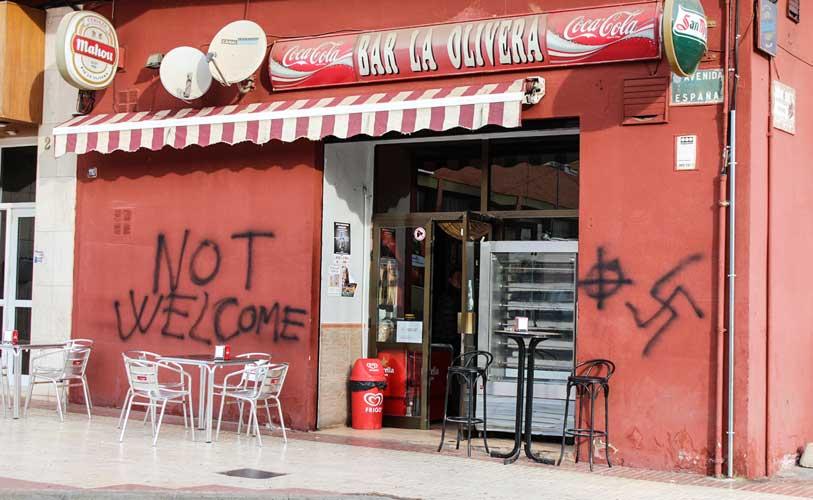 EUPV condena las pintadas nazis
