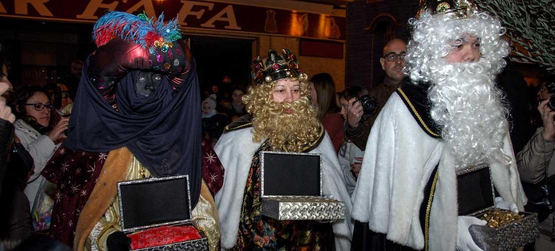 Cabalgata de Reyes en Segorbe
