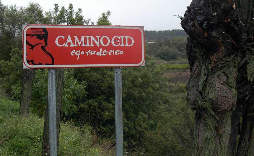 Caudiel en el sellado del Camino del Cid