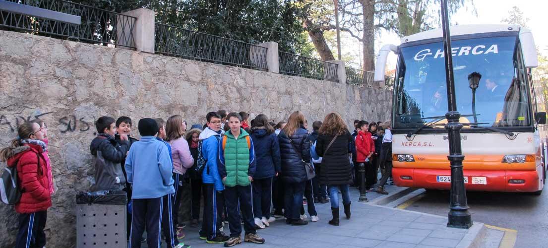 Escolares de Segorbe celebran el Día del Árbol