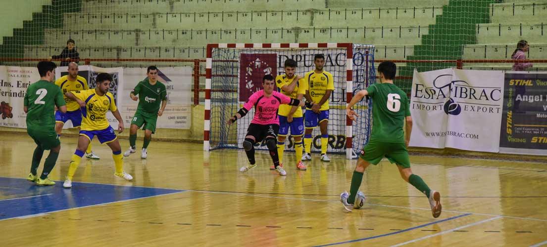 Segunda victoria del fútbol sala Segorbe