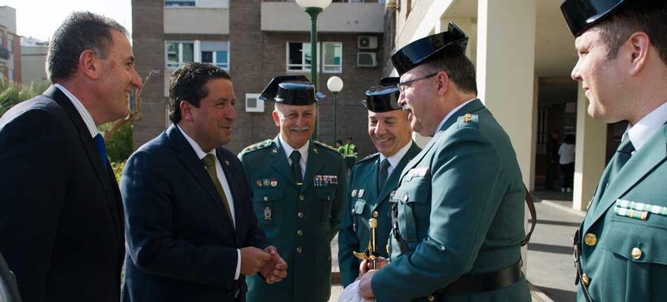 Fresneda asume en Castellón el mando de la GC