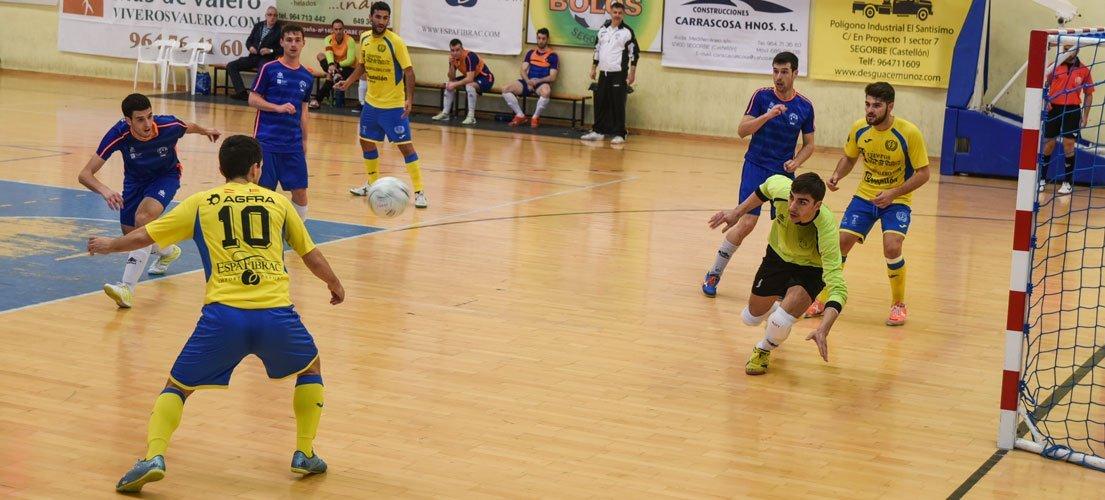El fútbol sala Segorbe cae ante el lider