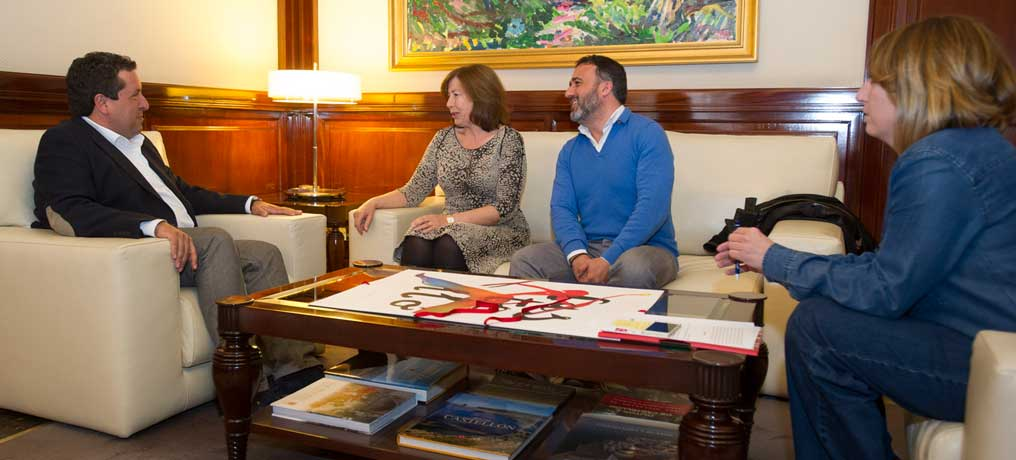 Diputación y Cruz Roja acogen a los refugiados
