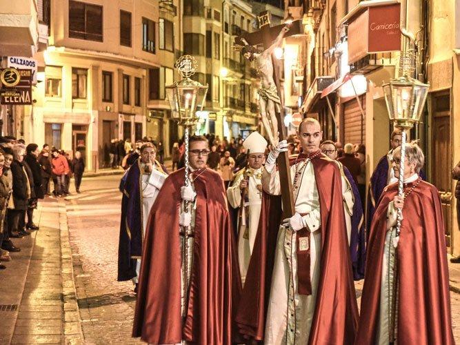 Cofrades de La Verónica. Foto:J.P.