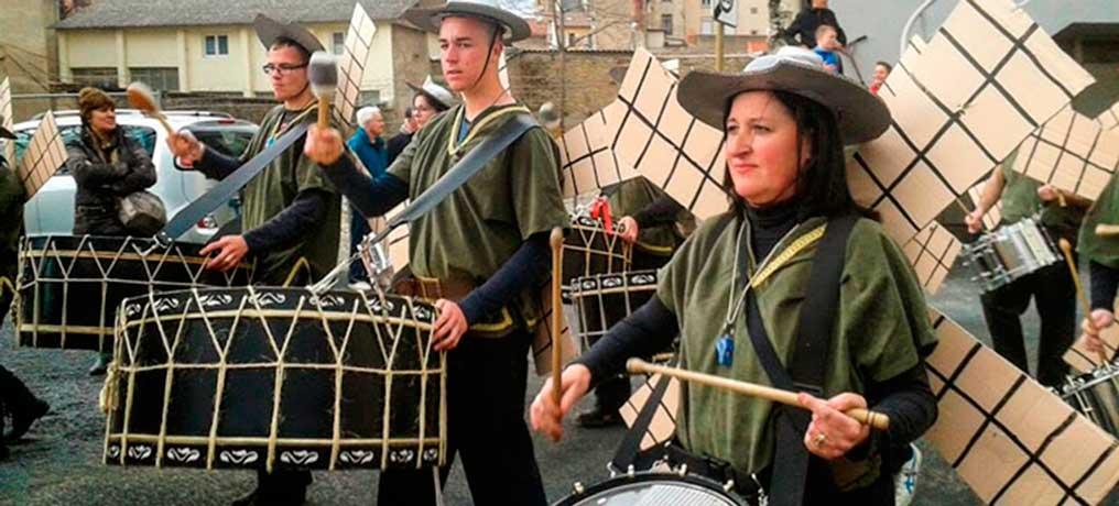 Encuentro de tambores en Segorbe