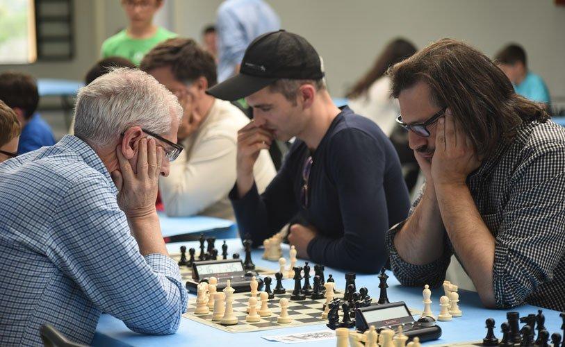 Torneo ajedrecista. Foto: J.P.