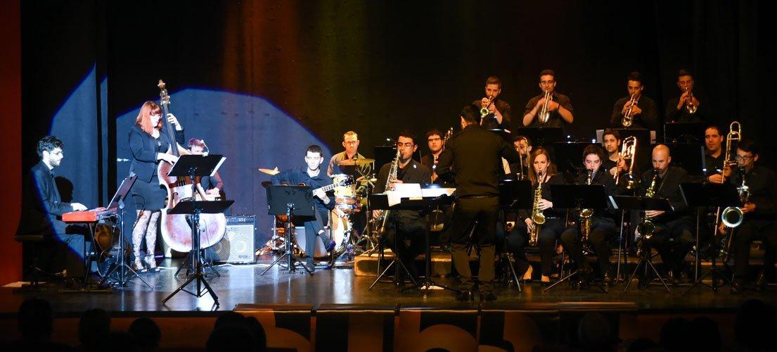 La Big Band no defraudo a nadie