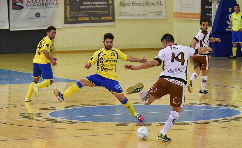 fútbol sala Segorbe no pudo contra el Zierbena