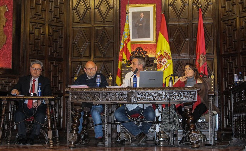 Demandan la intervención del secretario. Foto:Ch.Torrejón