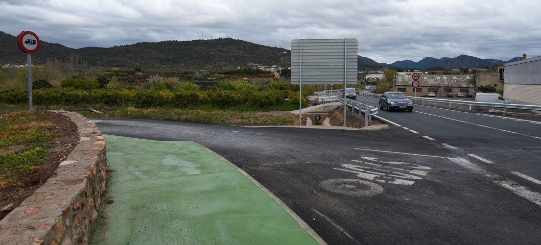 Segorbe quiere construir una acera hasta Peñalba