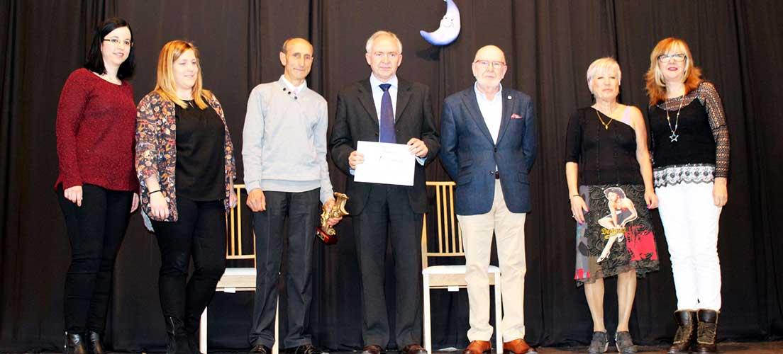 Rafael Martín obtiene el premio Luna azul