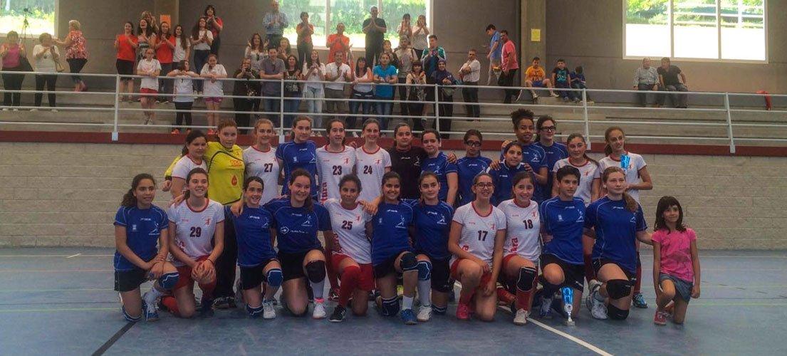 El Balonmano infantil gana la Copa Federación