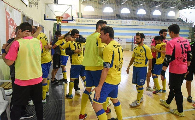 Celebrado el empate. Foto:J.Plasencia