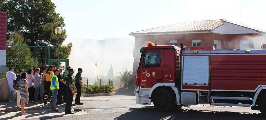 Incendio en el CITA de Segorbe