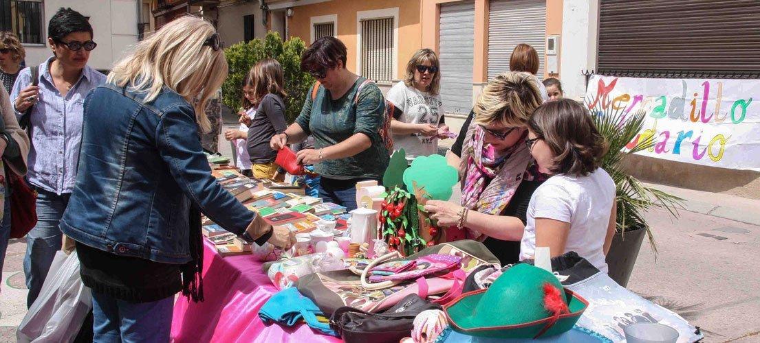 El AMPA de Navajas organiza un mercado solidario