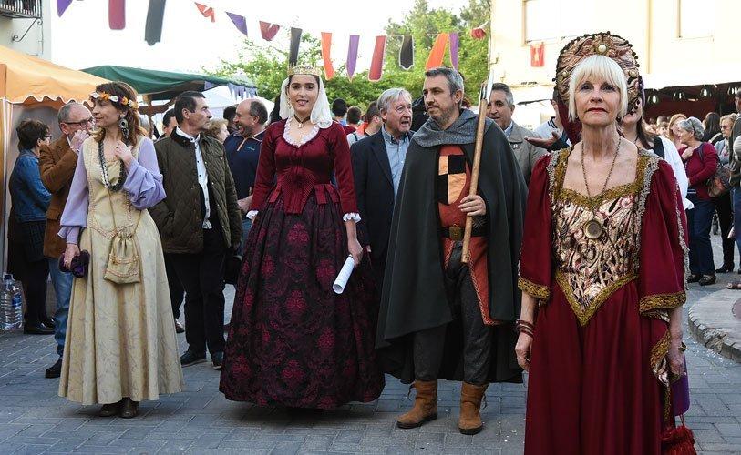 El tiempo respeta la Feria Medieval de Segorbe