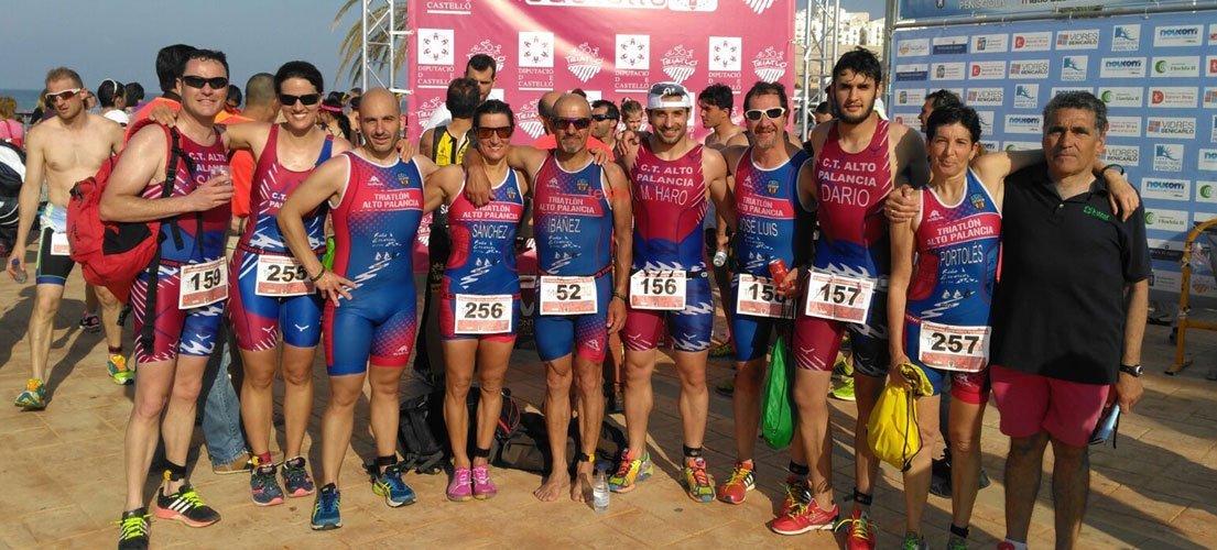 Competiciones triatletas del Palancia