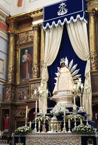 Altura quiere coronar a la Virgen de Gracia