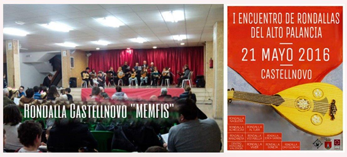 Castellnovo celebra el I Encuentro de Rondallas