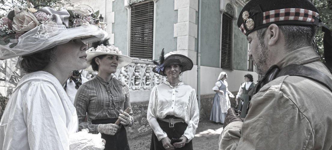 © Navajas vuelve a recrear la Belle Époque