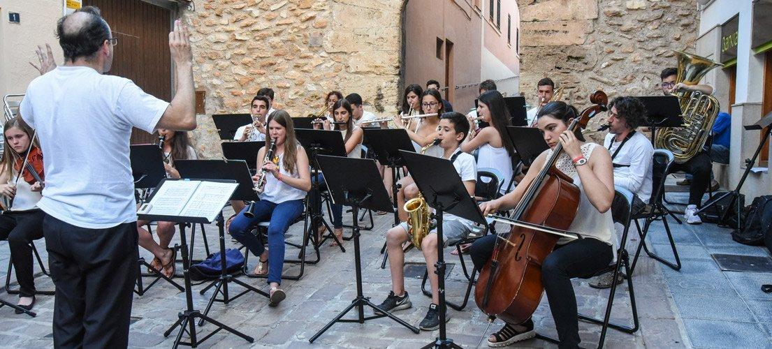 Triple fiesta musical en Segorbe