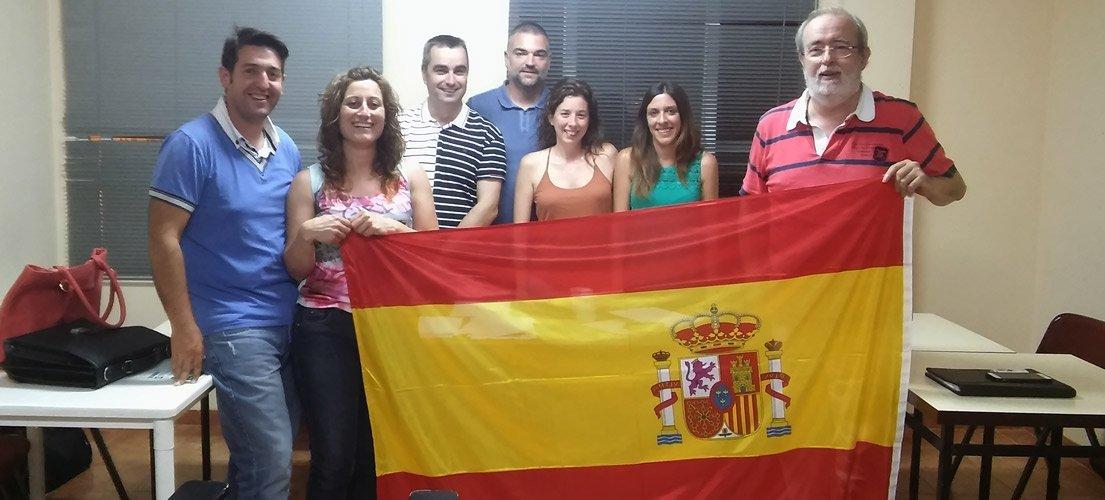 La bandera española presidirá los plenos de Navajas