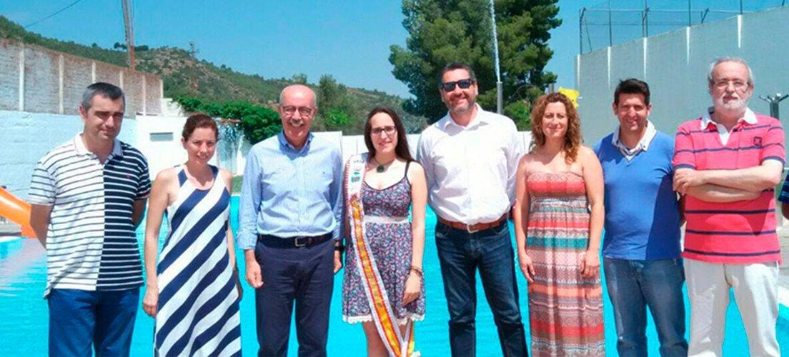 Mejoras en la piscina de Navajas