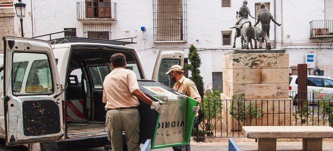 64.000 euros para retirar los contenedores soterrados