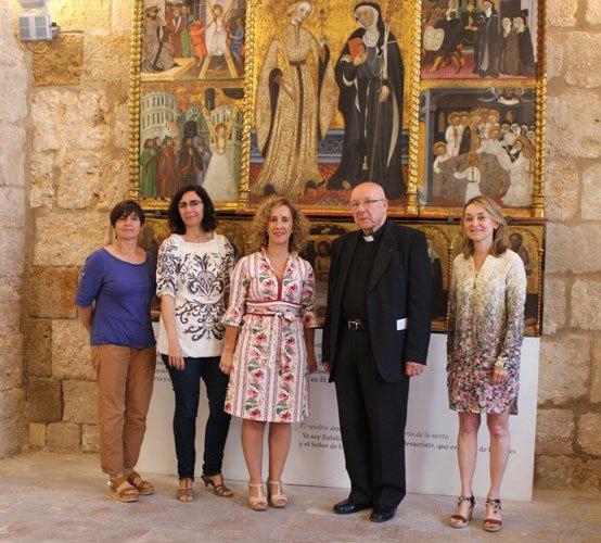 Presentación del retablo. foto:R.Martín