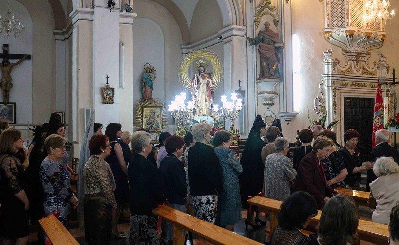 Jérica celebra el Sagrado Corazón