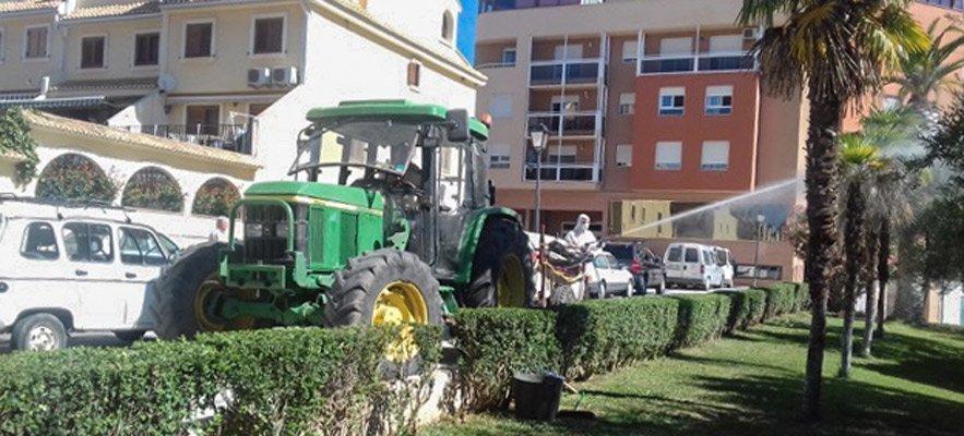 Tratamientos fitosanitarios en Segorbe